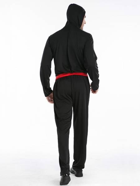 Vilanya Long Sleeve 4 Pieces Naruto Cartoon Halloween Men Costume Online Sale