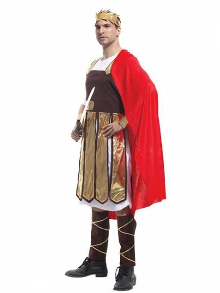 Vilanya Five Pieces Half Sleeve Adult Brave Warrior Halloween Men Costumes