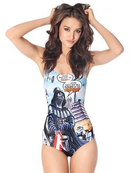 2014 New Vader Comic Unique One Piece Swimwear