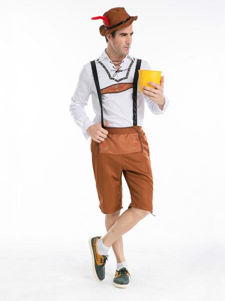 Vilanya Long Sleeve 3 Pieces Germany Oktoberfest Easy Mens Halloween Costumes