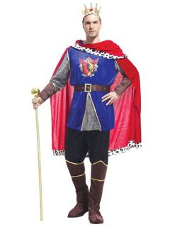 vilanya seven pieces long sleeve adult king halloween costumes mens online