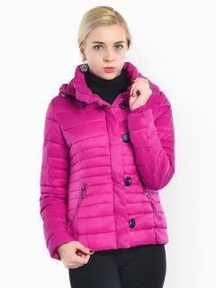 Slim Fit Petit Zipper & Button Light Weight Women Parka Coat with Hood
